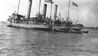 USS City of Lewes (SP-383) - Image: USN minesweepers at L'Orient 1918