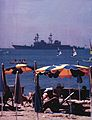 USS Comte de Grasse (DD-974) off Cannes c1981.jpg