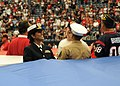 USS George H.W. Bush honors its namesake at football game 121104-N-TU894-050.jpg