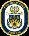 USS John Finn DDG-113 Crest.png