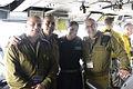 USS Theodore Roosevelt IDF Officers visit Aircraft Carrier in Mediterranean (16879223248).jpg