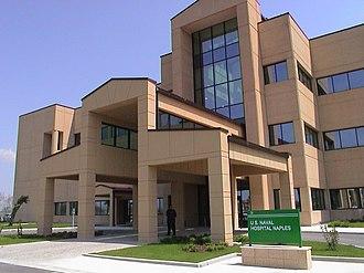 Bureau of Medicine and Surgery - Naval Hospital Naples, Italy