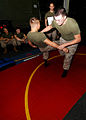 US Navy 081001-N-4236E-006 Marines practice martial art techniques.jpg