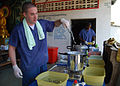 US Navy 100610-N-8539M-296 Sailors sterilize dental equipment during a Cooperation Afloat Readiness and Training (CARAT) Cambodia 2010 medical civic action project.jpg