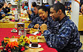 US Navy 101125-N-1756R-009 Thanksgiving dinner aboard USS Carl Vinson.jpg