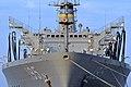 US Navy 111123-N-MO201-003 The Military Sealift Command fleet replenishment oiler USNS Leroy Grumman (T-AO 195) visits Crete for a routine port vis.jpg