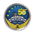 US Navy 111123-N-ZZ999-001 A logo to commemorate the 50th anniversary of the commissioning of the aircraft carrier USS Enterprise (CVN 65).jpg