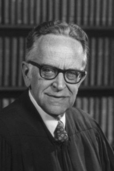 US Supreme Court Justice Harry Blackmun, detail