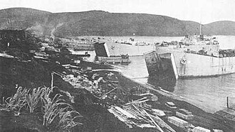 Operation Cottage - American troops landing on Kiska