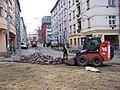 U Balabenky, z ulice Na žertvách, nakladač Thomas.jpg