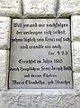 Ubstadt-Weiher - Kreuz (Straßenkreuzung Weiherer Strassse und Zum Kleebuehl) 2015-12-03 13-32-31.JPG