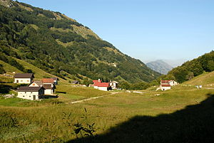 Slavia Friulana - The Carnizza, linking the upper Torre Valley with the Resia Valley.