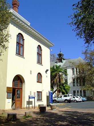 University of Cape Town - Hiddingh Hall Library on Hiddingh Campus in Gardens, Cape Town.