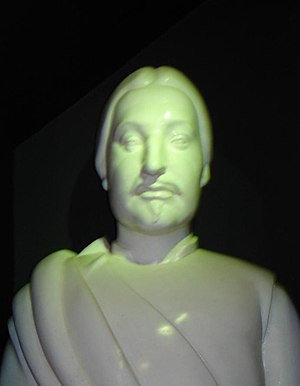 William II, Earl of Ross - A bust of Earl William, made for display in the Tain Museum