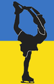 Ukraine figure skater pictogram.png