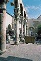 Umayyad Mosque, Damascus (دمشق), Syria - Detail of west Byzantine walkway from southwest - PHBZ024 2016 0050 - Dumbarton Oaks.jpg