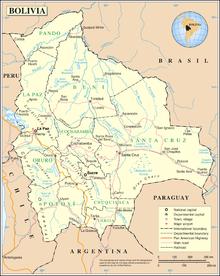 Outline of Bolivia - Wikipedia