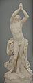 Un esclave accablé de douleurs, marbre, Félix Lecomte.JPG