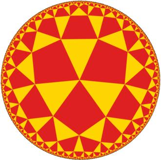 Alternated octagonal tiling - Image: Uniform tiling 433 t 0 point