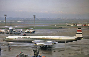 United Arab Airlines Flight 869 (1963) - A de Havilland DH.106 Comet of United Arab Airlines, similar to the crashed aircraft