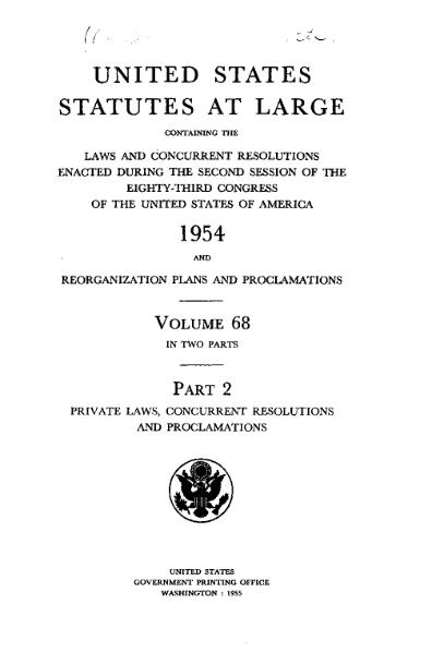 File:United States Statutes at Large Volume 68 Part 2.djvu