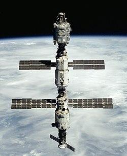 Station spatiale abandonée