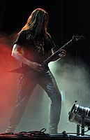 Unleashed, Tomas Måsgard at Party.San Metal Open Air 2013.jpg