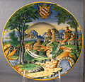 Urbino, bottega fontana (attr.), stemma salviati, 1550-60 ca..JPG