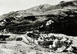 Шахта завода и Аляски железной дороги, в середине 1950-х годов.