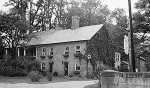 Falls Township, Muskingum County, Ohio - Usual Headley Inn, built 1830