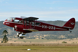 2012 Queensland DH.84 Dragon crash