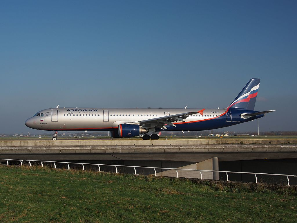 File:VQ-BEE Aeroflot - Russian Airlines Airbus A321-211 ... - photo#49