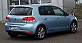 VW Golf 1.4 TSI Match (VI) – Heckansicht, 25. August 2012, Velbert.jpg