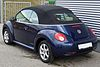 VW New Beetle Cabrio 1.6 Freestyle Shadowblue Heck.JPG