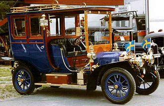 Vabis - Vabis 2S Limousine 1909