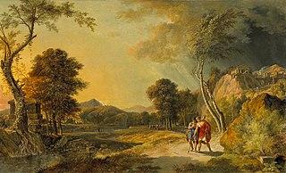Paysage historique avec Démetrius et Mithridate