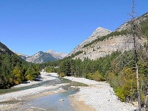 Vallée de la Clarée - View of the Vallée de la Clarée