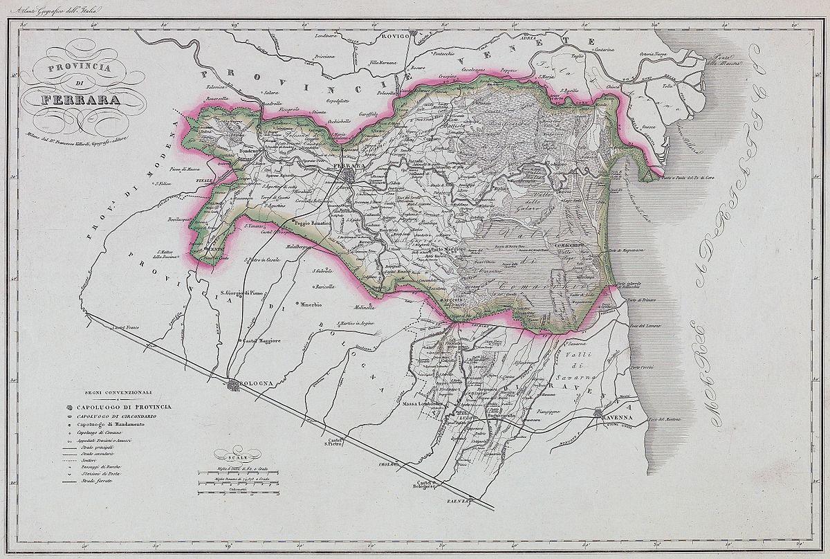 Antiche unit di misura del circondario di ferrara wikipedia for Unita di capacita per condensatori elettrici