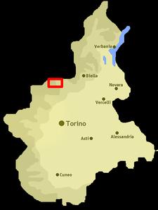 Resultado de imagen de map valchiusella