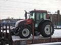Valtra tractor on a train Jyväskylä.jpg