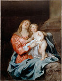 Van Dyck, Sir Anthony - The Madonna and Child - Google Art Project.jpg