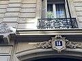 Van Sluyters - architecte - Rue de Berri (Paris).JPG