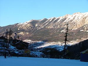 Vars, Hautes-Alpes - The mountainous landscape around Vars