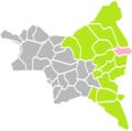 Vaujours (Seine-Saint-Denis) dans son Arrondissement.png