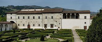 Pinacoteca Comunale, Città di Castello - View of Palazzo Vitelli alla Cannoniera
