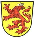 Das Wappen von Velburg