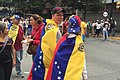Venezuelan protest include multi national protesters.jpg