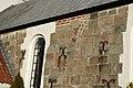 Vennebjerg Kirke murdetaljer.JPG