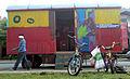 Verband Christlicher Pfadfinder und Pfadfinderinnen, Bezirk Hannover, Spielwagen für Kinder, vom Deutz-Trecker gezogen. II.jpg