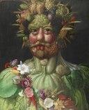 Vertumnus årstidernas gud målad av Giuseppe Arcimboldo 1591 - Skoklosters slott - 91503.tiff
